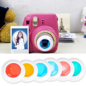 For-Fujifilm-Instax-Mini-7s-8-8-9-Film-Camera-4-6-Color-Filter-Close-Up-Lens