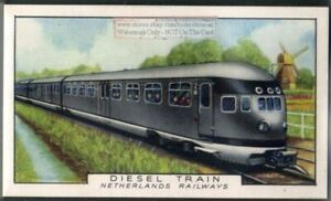 1934-Netherlands-Railways-Diesel-Train-80-Y-O-Trade-Ad-Card