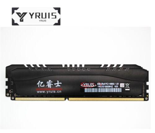 YRUIS 16GB 2X8GB PC3-14900 DDR3-1866MHz DIMM Desktop RAM 2 Years Warranty R1US