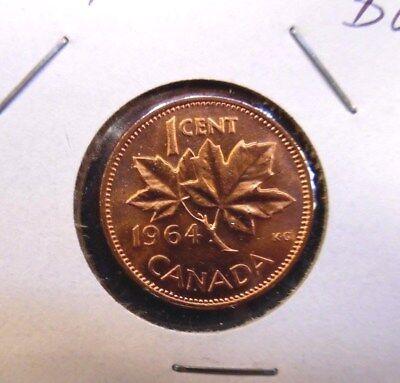 Canada 1964 Small Cent Gem BU!!