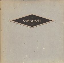 SMASH - Turn On The Water - 1994 Sub Pop 7 Inch GREEN Vinyl Record NEW