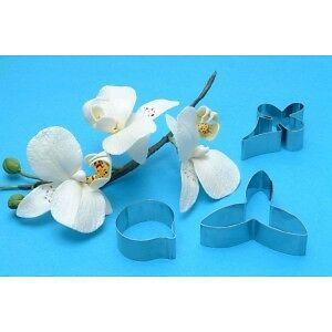 PME Moth Orchid Stainless Steel Gum Paste Cutters Set of 3  #MO223