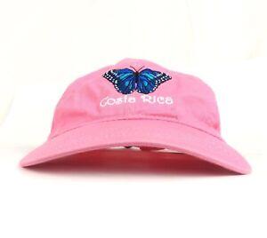 Image is loading Costa-Rica-Pura-Vida-Embroidered-Monarch-Butterfly-Logo- c77cb1ed8ae