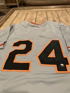 Willie Mays Autographed/Signed Jersey Hologram San Francisco Giants