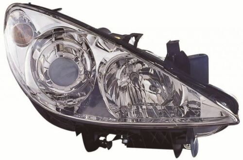 Peugeot 307 2005-2009 Chrome Front Headlight Headlamp O//S Drivers Right