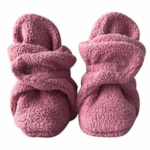 Ships from WA Soft Plush Black Fleece Infant Soft Baby Cotton Booties