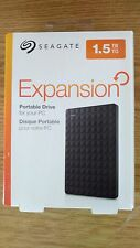 "Seagate Expansion 1.5TB 2.5"" Portable External USB 3.0 Hard Drive Expedited"