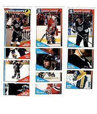 1X LEAGUE LEADERS HIGHLIGHTS 1991-92 opc FULL SET Lots Availa O Pee Chee GRETZKY