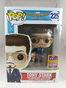 Marvel Funko Pop - Tony Stark - Spider-Man Homecoming - SDCC Exclusive - No. 225