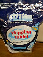 Fizzion Drop & Mop Concentrated Clean Odor & Stain Remover 45 Tablets