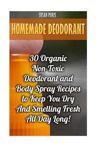 Image is loading Homemade-Deodorant-30-Organic-Non-toxic-Deodorant-and-