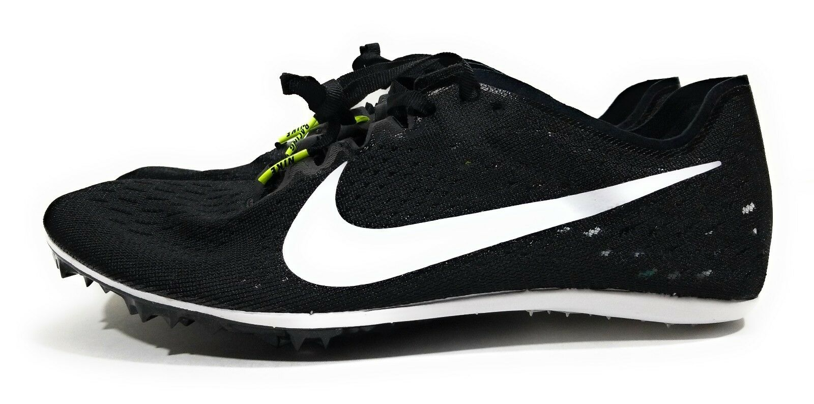 Nike Zoom Victory 3 Mens Track Spikes Black White Size 12