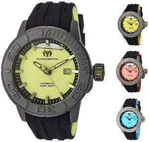 Technomarine-Reef-Mens-48mm-Automatic-Titanium-Watch-Choice-of-Color