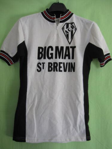 Maillot cycliste BIGMAT Saint Brevin ACB acrylique Vintage jersey - 2 / S