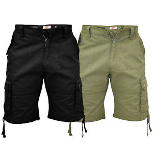 mens-cargo-shorts-D555-duke-king-size-cotton-knee-length-combat-casual-summer