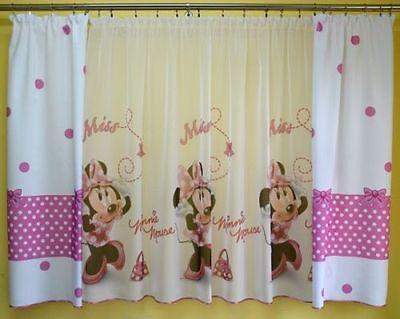 Minnie Mouse Gardinen ela zimmer collection on ebay