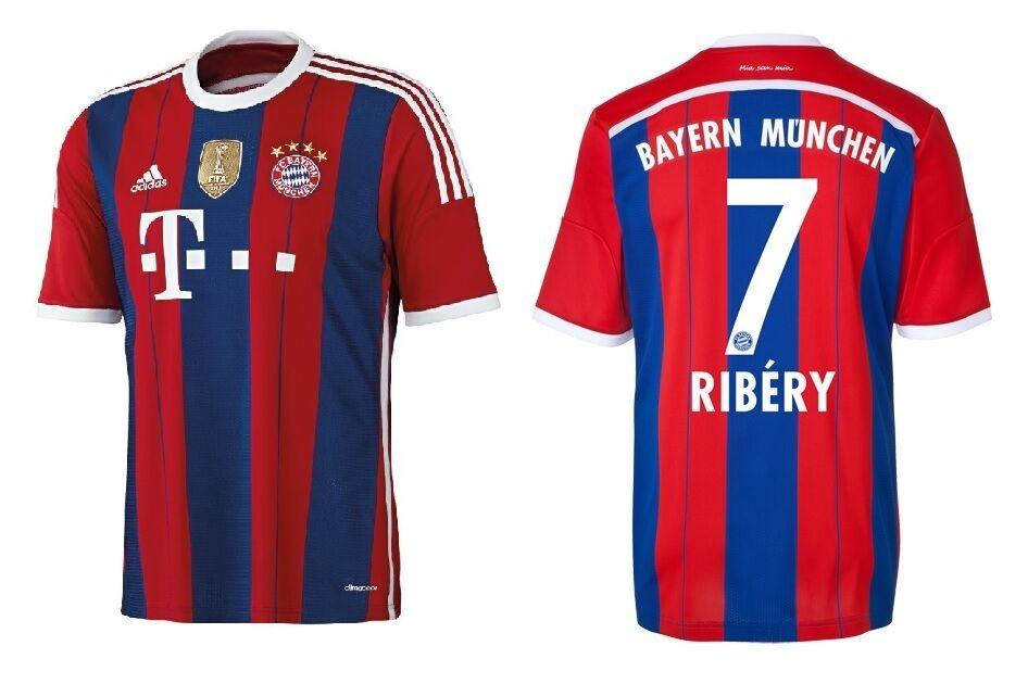 WC 2014 2015 Bayern FC Adidas Trikot Home Mode stilvolle