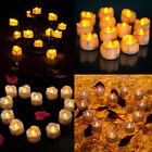 Portable Yellow Flicker Electric Candles Flameless Tea Light Wedding Decoration
