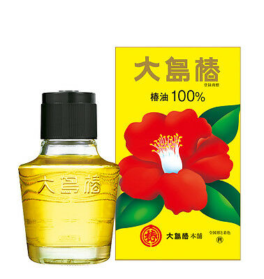Oshima Tsubaki Camellia Hair Oil 100% Pure Made in Japan 60ml