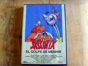 Como-nuevo-DVD-Pelicula-ASTERIX-EL-GOLPE-DE-MENHIR-Item-For-Collectors
