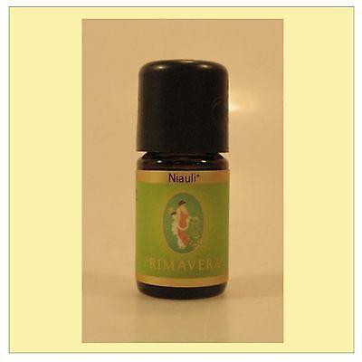 Primavera Niauli Öl 100% naturreines ätherisches Niauliöl bio 5 ml