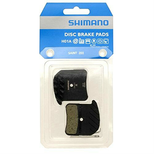 gobike88 Shimano H01A SAINT ZEE Resin Disc Brake Pads with FIN AAM
