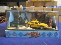 1:64 Nyc York City Ford Crown Victoria Taxi Times Square American Graffiti