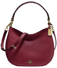 NWT Coach 54446 NOMAD CROSSBODY Shoulder Bag In BURGUNDY GLOVETANNED LEATHER