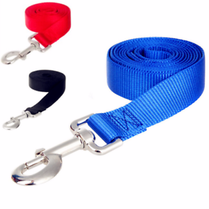 Nailon-Correas-Perros-Largo-Mascotas-Caminar-Formacion-para-Arnes-Collar-Dirigir