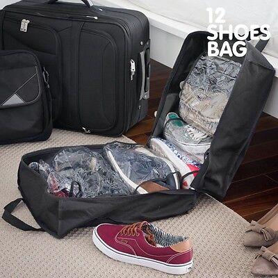 Schuhtasche Tasche für 12 Schuhe Reisetasche für Schuhe Sporttasche Shoes Bag