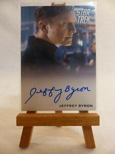 STAR TREK MOVIES 2014 Jeffrey Byron as Test Administrator Autograph Card