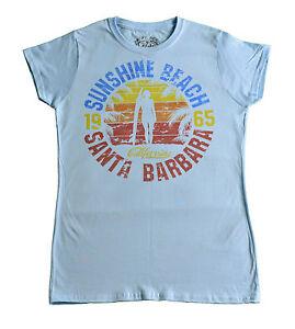 c19976ce8a7 ... Tee-shirt-femme-Vintage-Sunshine-Beach-Santa-Barbara-