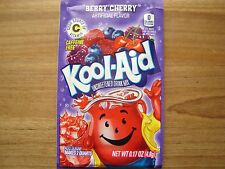 100 Kool Aid Drink Mix BERRY CHERRY popsicle flavor taste party pool summer NEW!