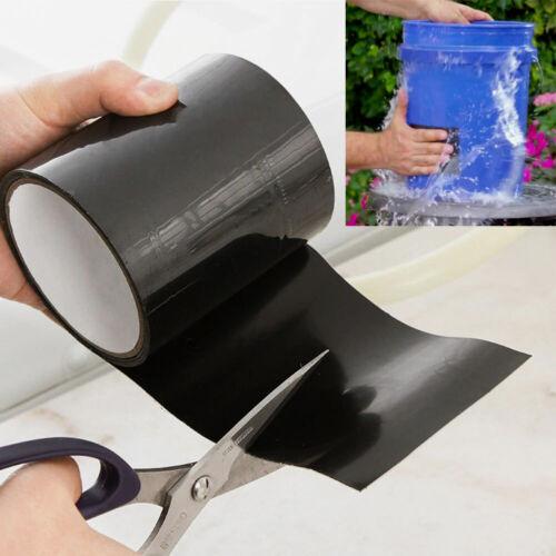 Waterproof Super Strong Fiber Stop Leaks Seal Repair Self Fix Adhesive Duct Tape