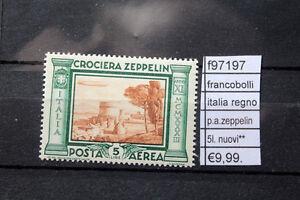 FRANCOBOLLI-ITALIA-PA-ZEPPELIN-5L-NUOVI-MNH-F97197