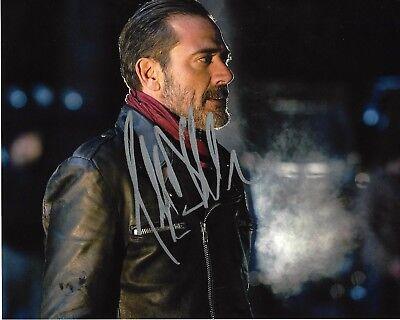 Television Actor Jeffrey Dean Morgan Signed The Walking Dead 8x10 Photo A W/coa Cast Negan