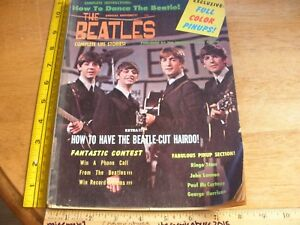 The-Beatles-Complete-Life-Stories-magazine-1964-HTF-John-Lennon
