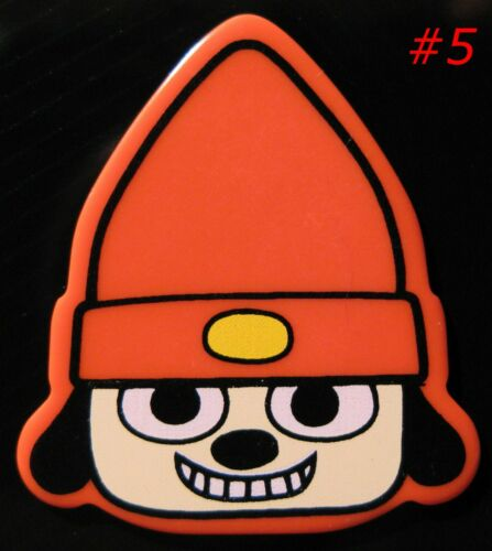 PaRappa Video Game Guitar Pick Collection;  CONTENT FACE Over 20yrs Old!
