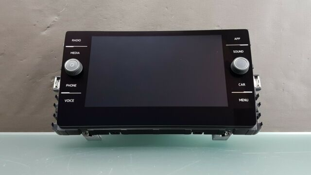 "Orig VW Golf 7 5G Composition Media Control Panel 8 "" Touchscreen MIB2"