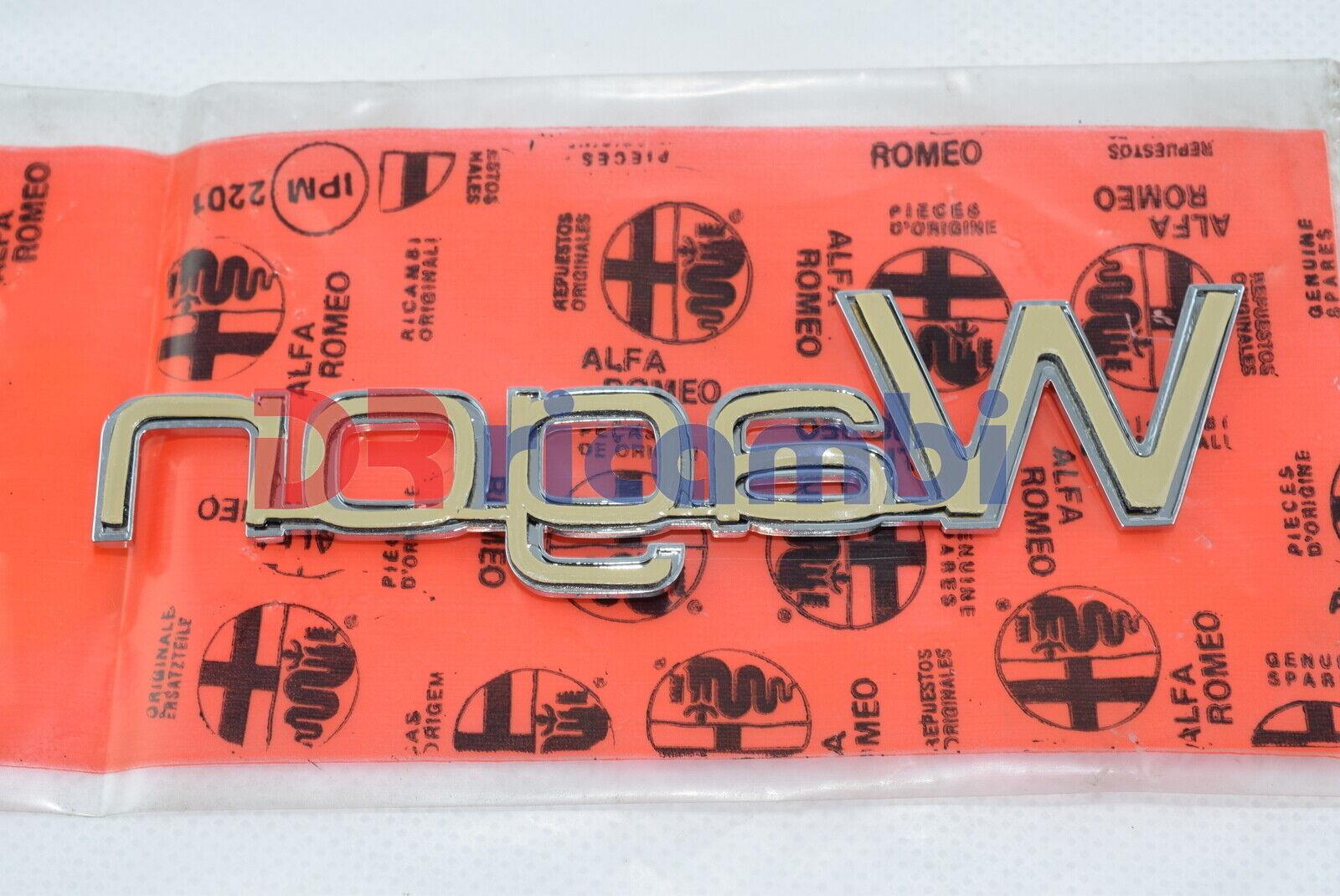 Initialen Modell Motorhaube/' Wagon /' Hinten ALFA ROMEO 33-60505197
