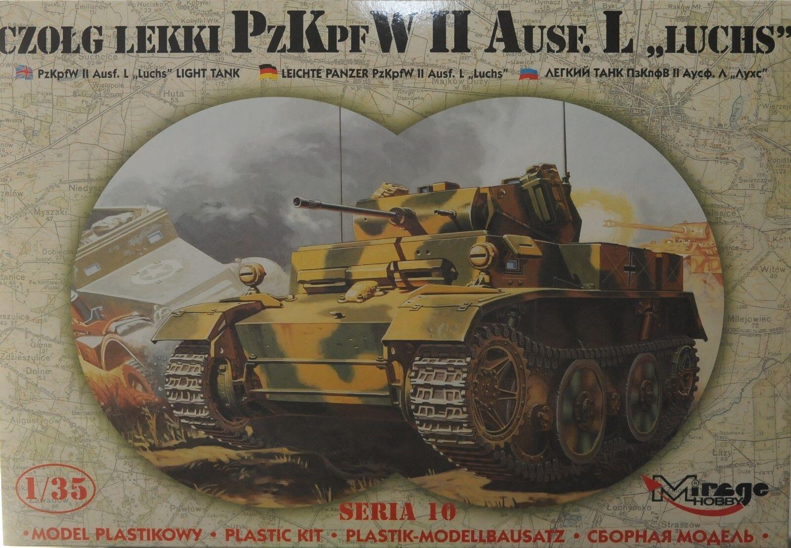 Panzer II Ausf 'L' Luchs 1 35