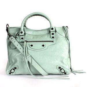 9b885e05b9b Balenciaga Giant 12 Nickel City Velo Leather AJ Shoulder Bag Tote ...