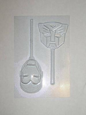 IRON MAN & TRANSFORMER LOLLY MOULD CHOCOLATE MOULD