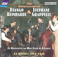 Quintette du Hot Club de France: 25 Classics 1934-1940 by Django Reinhardt...