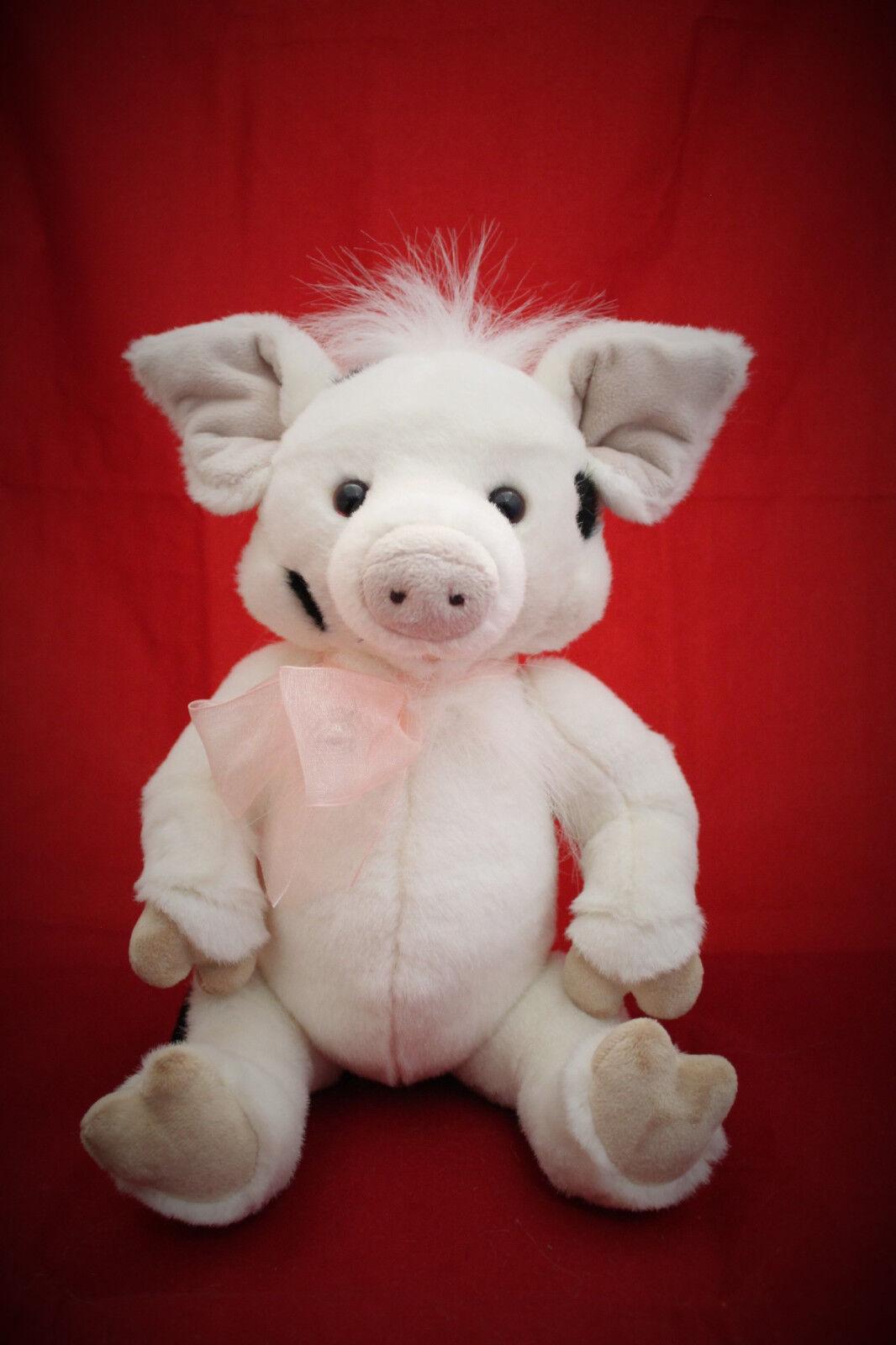 Charlie Bears 2017 Truffles Plush Pig