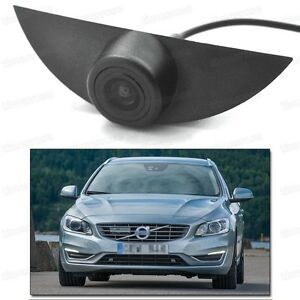 CCD Car Front View Camera Logo Embedded Waterproof New for Volvo V60 2011-2017
