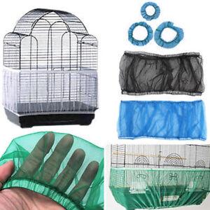 Nylon-Mesh-Pet-Bird-Parrot-Cage-Seed-Catcher-Guard-Cover-Shell-Skirt-Gift