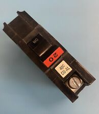 Fpe Federal Pacific Na120 20 Amp 1 Pole Thick Stab Lock Circuit Breaker