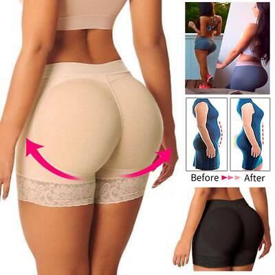 FAKE ASS Women Butt and Hip Enhancer Booty Padded Underwear Pants Shaper NEW