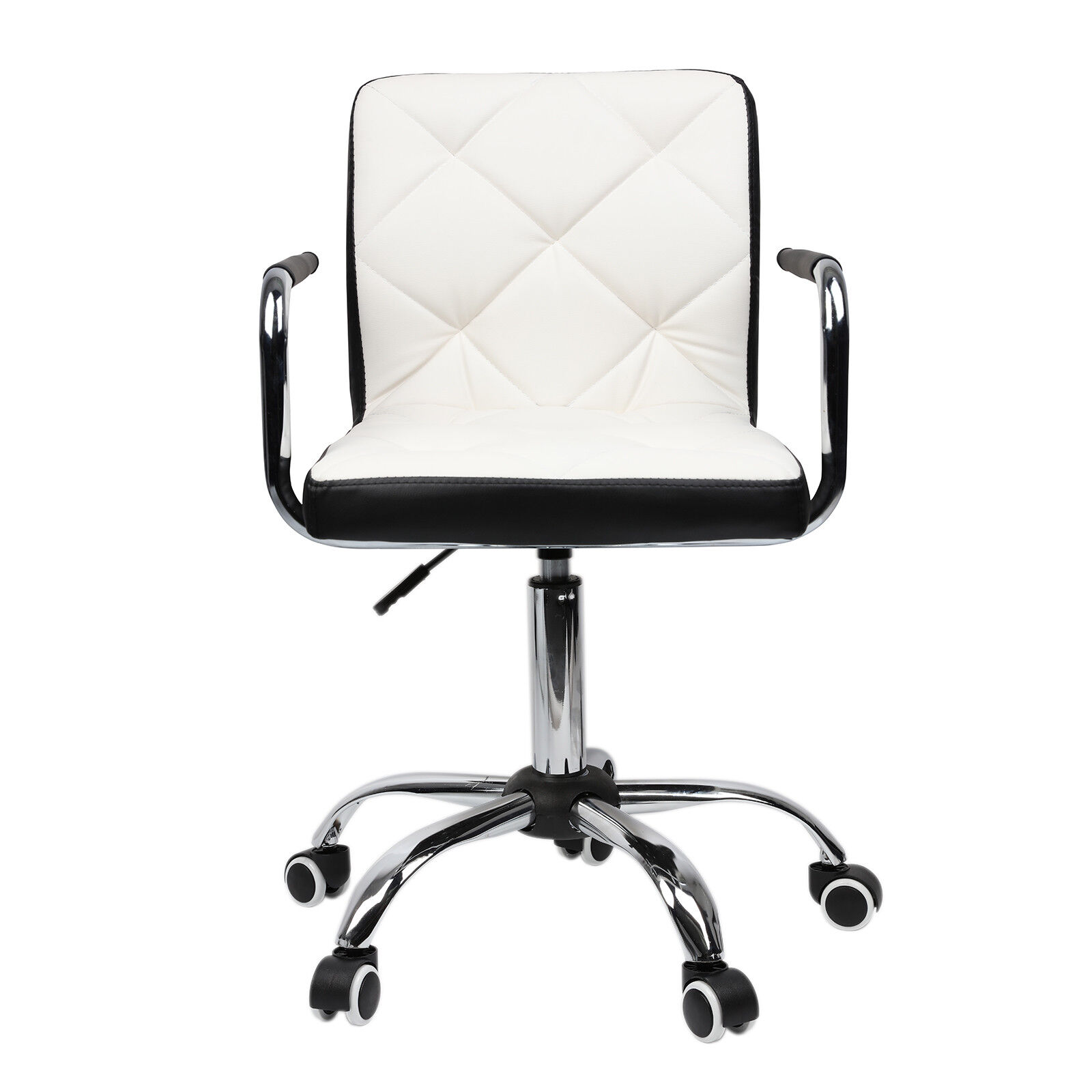 modern pu leather office desk computer chair seat swivel barstool mixed color 643665838504 ebay. Black Bedroom Furniture Sets. Home Design Ideas